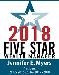 Five Star Wealth Manager 2018 Award logo