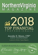 Northern Virginia Top Financial Professional Award 2018 logo
