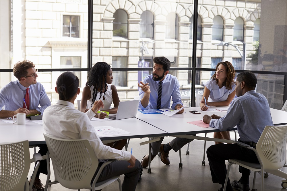 Employee meeting to discuss when to buy and sell ESPP shares