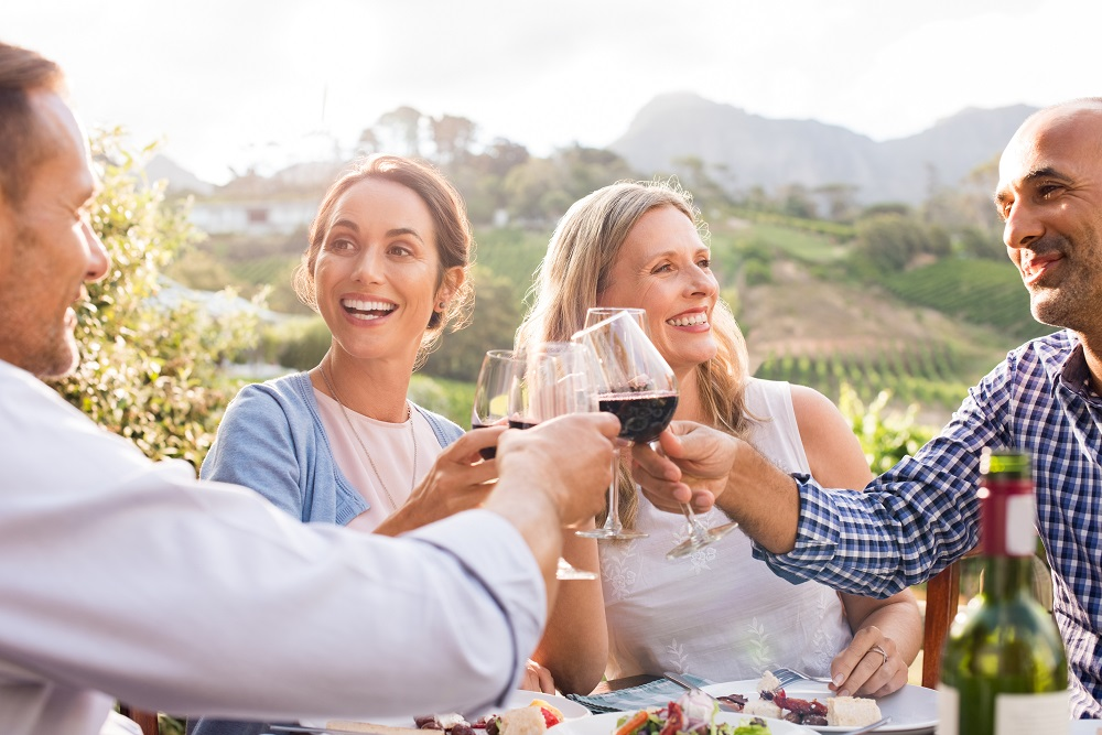 Group of friends celebrate 50th birthday, when you can make retirement catch-up contributions