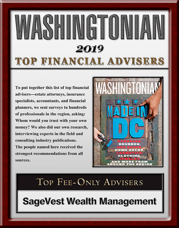 Washingtonian Top Wealth Advisor 2019