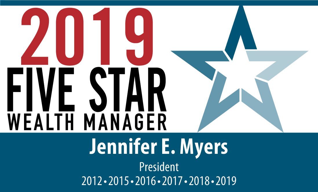 Jennifer Myers Recognized As A Five Star Wealth Manager