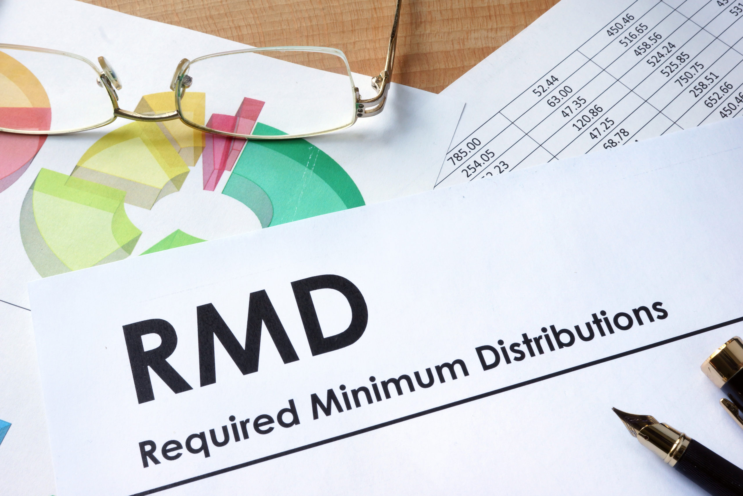 Age 72 – Required Minimum Distributions (RMDs)