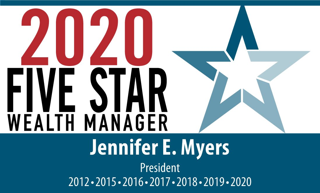 Jennifer Myers Recognized As A Five Star Wealth Manager 2020