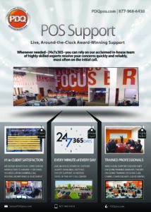 PDQ POS Support