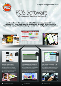PDQ POS Software Flyer