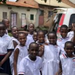 Uganda trip students.