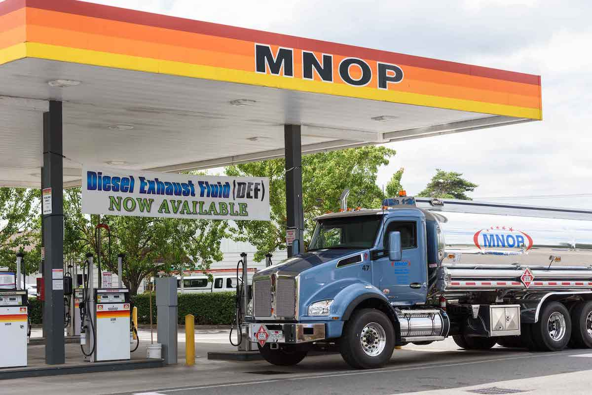 MNOP fueling station | MNOP in Portland