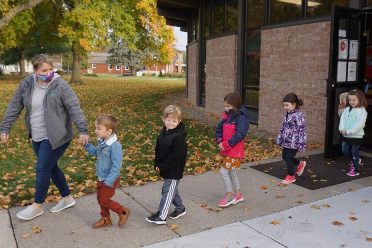 Messiah Lutheran, preschool, young children, field trip, three-year-olds