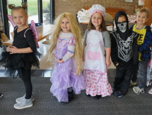 Messiah Lutheran, preschool, young children, Halloween, fun, costumes, three-year-olds