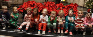 Christmas, Messiah, Lutheran, Preschool, children, singing