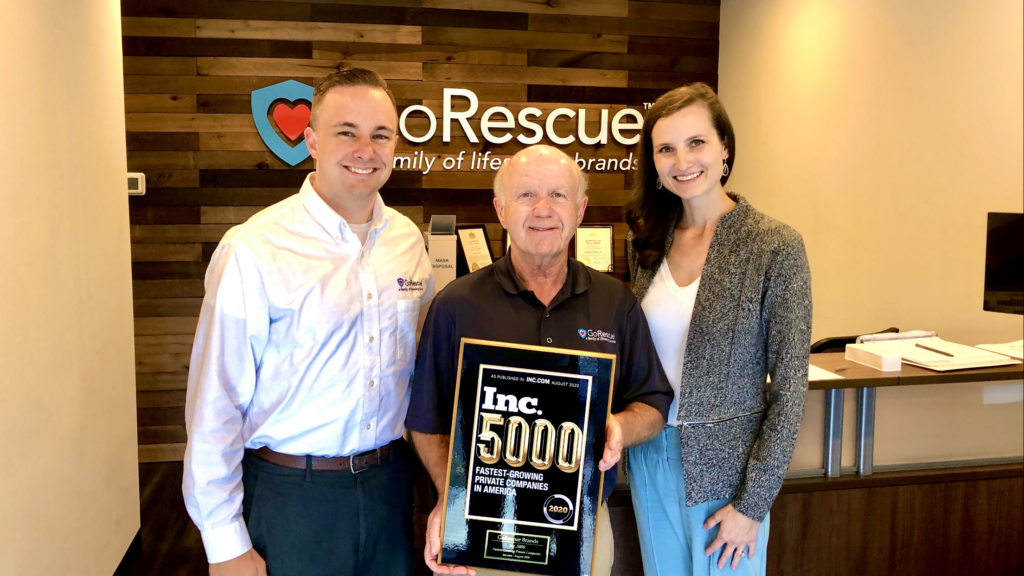 Inc. Magazine Includes GoRescue on Its Annual List of America's Fastest-Growing Private Companies - the Inc. 5000