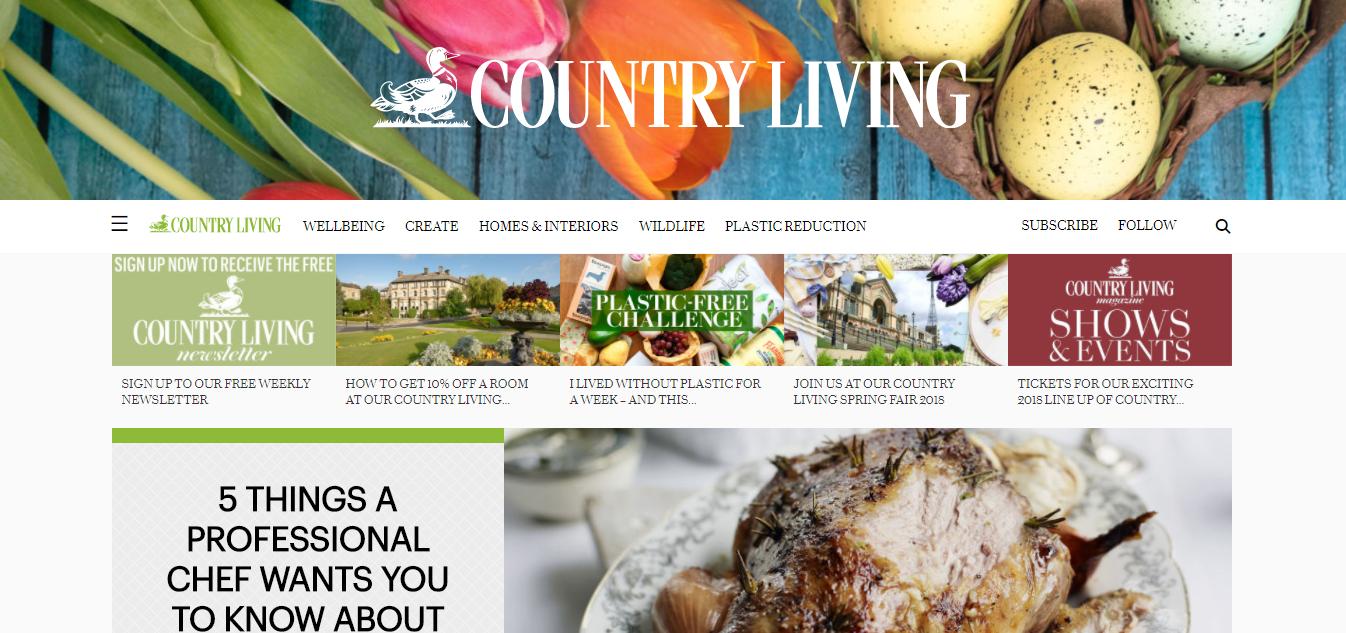 Interior Design - Country Living
