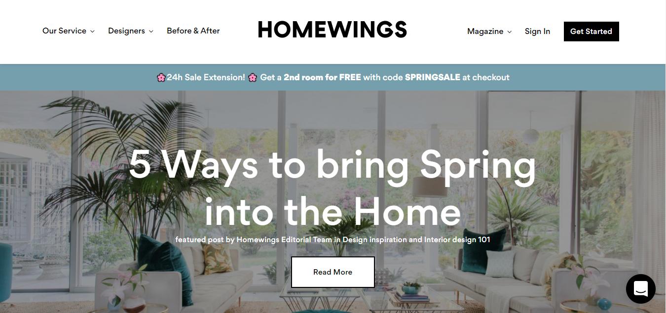 Interior Design - Homewings
