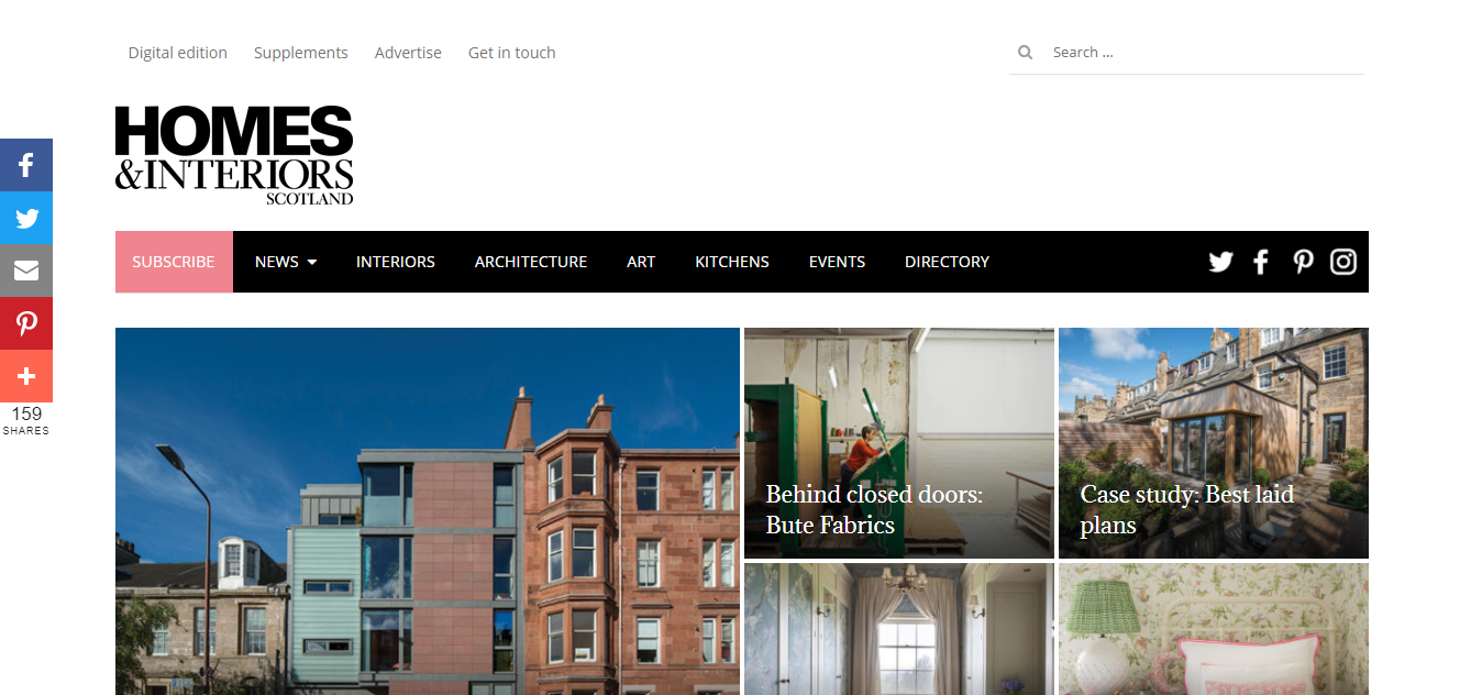 Interior Design - Homes and Interiors Scotland