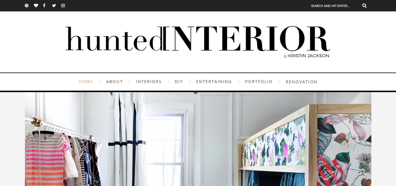 Interior Design - Hunted Interior