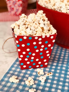 Microwave popcorn snack
