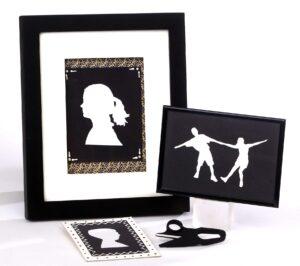 Silhoutte cutouts