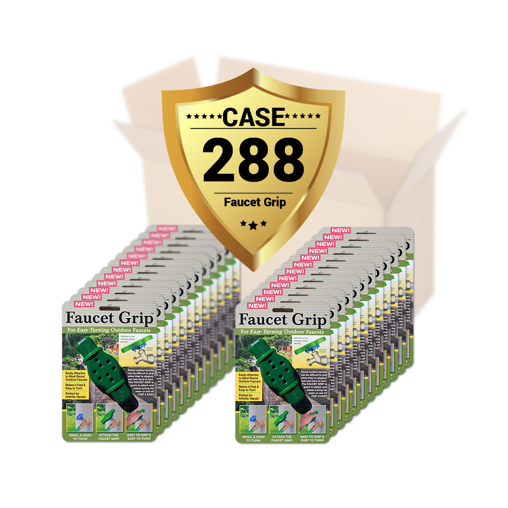 faucet-grip-case-packaging-1000 case of 288 faucet grips