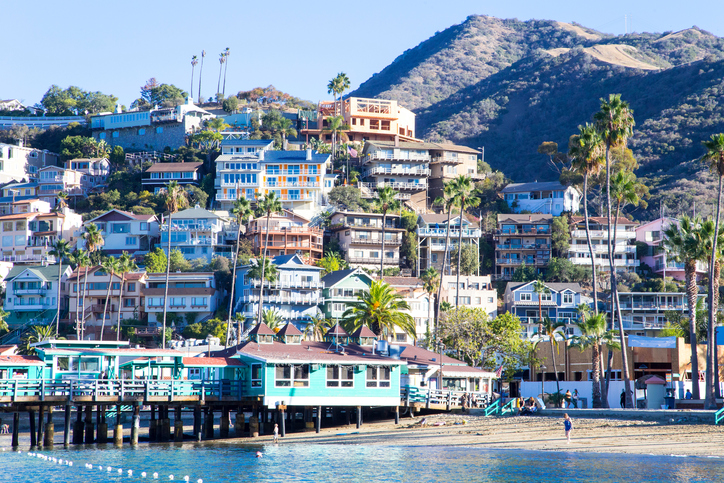Avalon Harbor, Santa Catalina Island, California