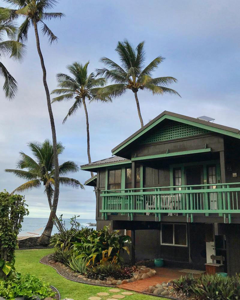 The Gee family's new home in Hawaii