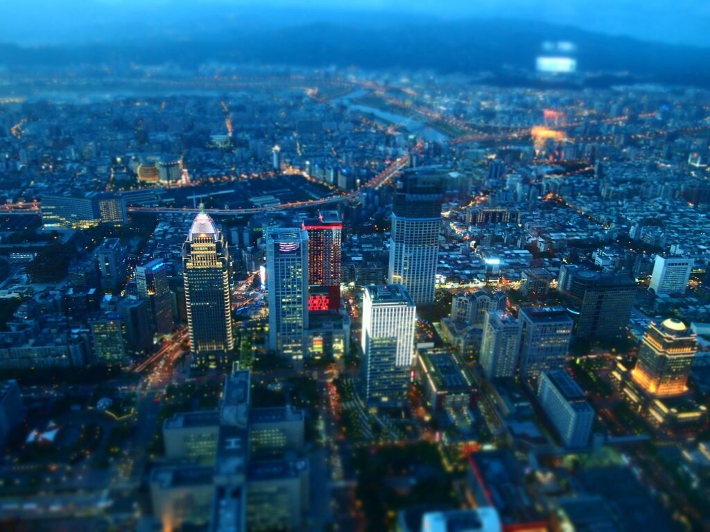 Taiwan night view
