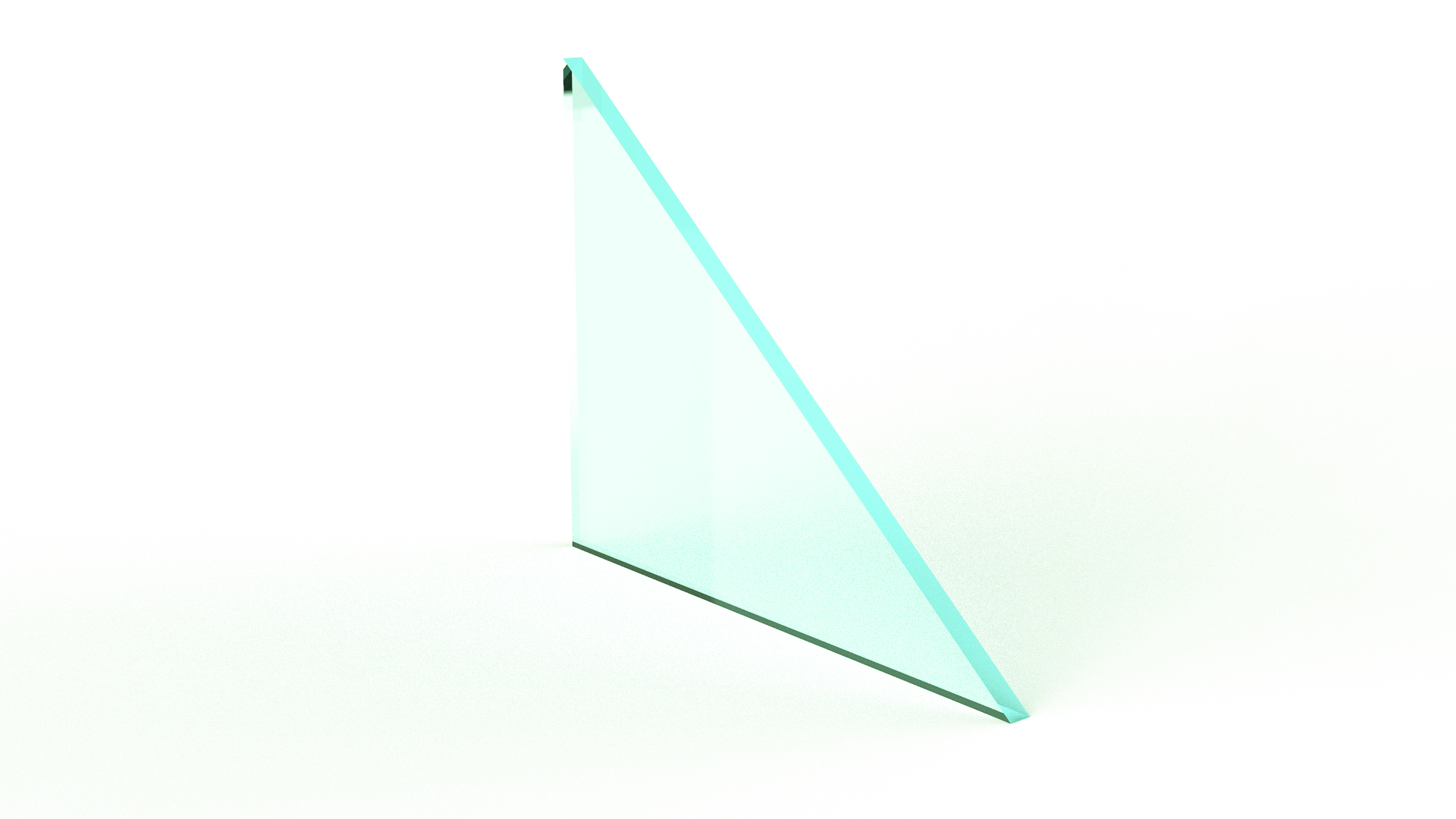 Clear Monolithic Glass