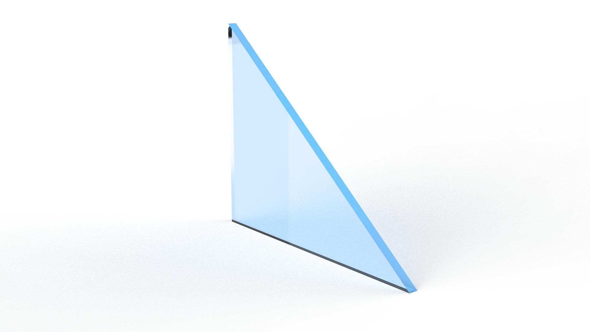 Coated Monolithic Glass