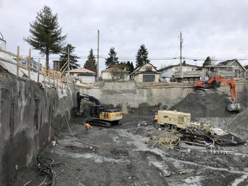 excavation-shoring rae-ave 16