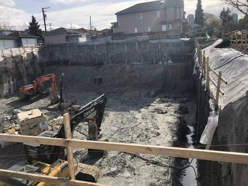 excavation-shoring rae-ave 18