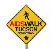 Gay Tucson Pride 2013 Aidswalk Downtown Arizona