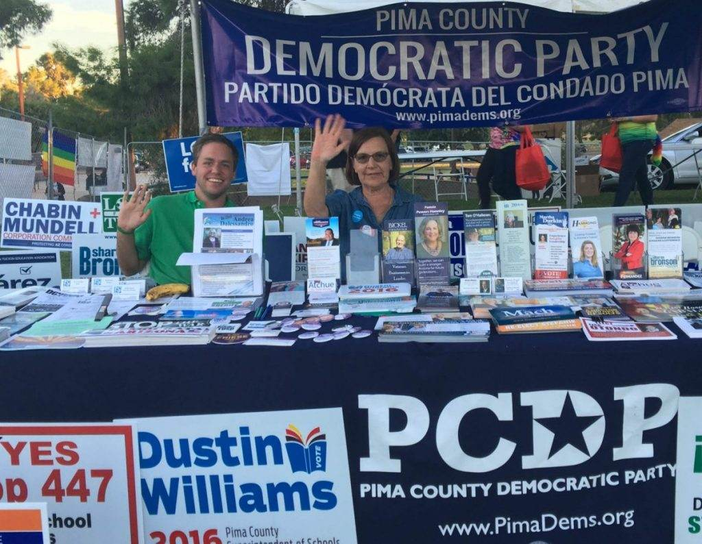 The Democrats are Out at Tucson Pride 2016