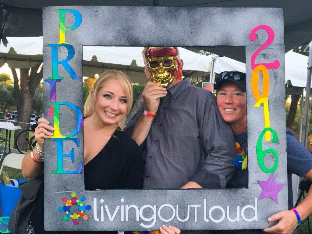 Live Out Loud at Tucson Pride in the Park 2016