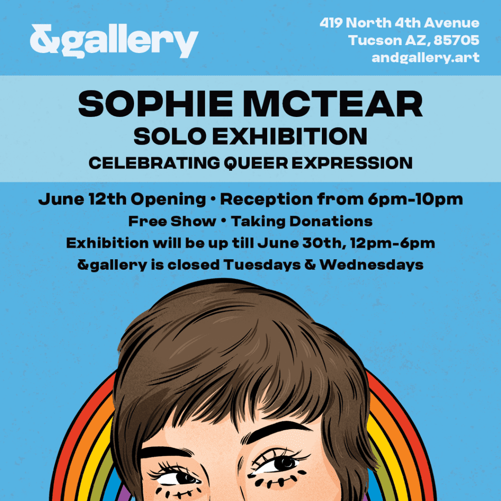 Catch the Sophie McTear Art Exhibition This Week at &gallery