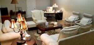 Patricia Pritchett's Calming and Elegant Office