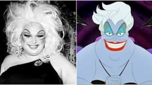 Ursula from Disney's The Little Mermaid is an excellent example of Queer Coding / baiting