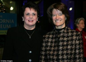 Sally Ride and partner
