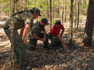 mantracking man-tracking deer moss Flagler County Sheriff's Office