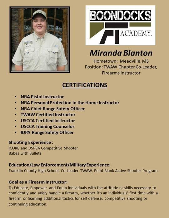 Miranda Blanton