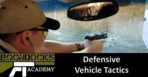 Defensive vehicle tactics lessons