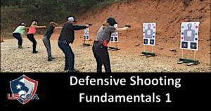 Defensive Shooting Fundamentals Level I