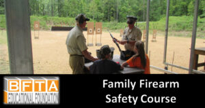 Family Firearm Safety Class