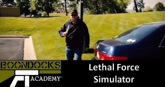 A lethal force simulation