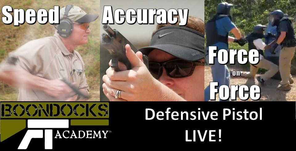 Defensive Pistol LIVE!