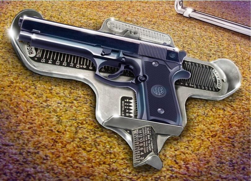 Selecting handgun