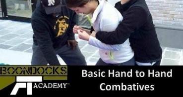Basic hand to hand combat training