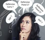 Differences in defensive handgun classes