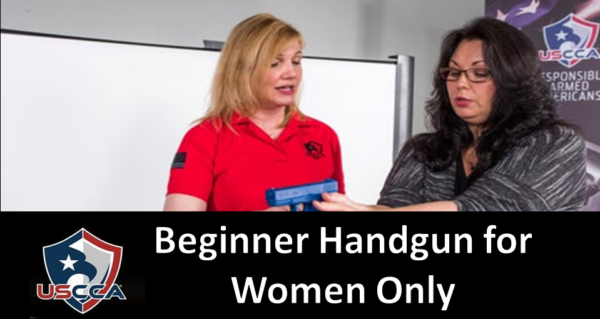 Beginner handgun lessons for women