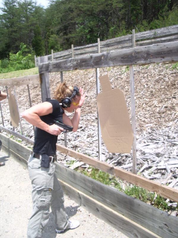 Extreme Close Quarters Gunfighting