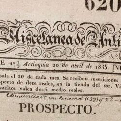 historia del periodismo en la ciudad de antioquia
